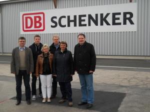 v.l.n.r. Jens Schumann, Martin Lemcke, Gaby Bremme, Lars Fretwurst, Frau Borowski, Jens-Jochen Roth (Aufnahme: privat)